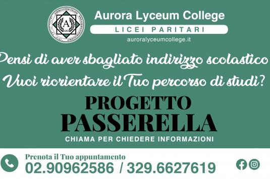 Progetto Passerella